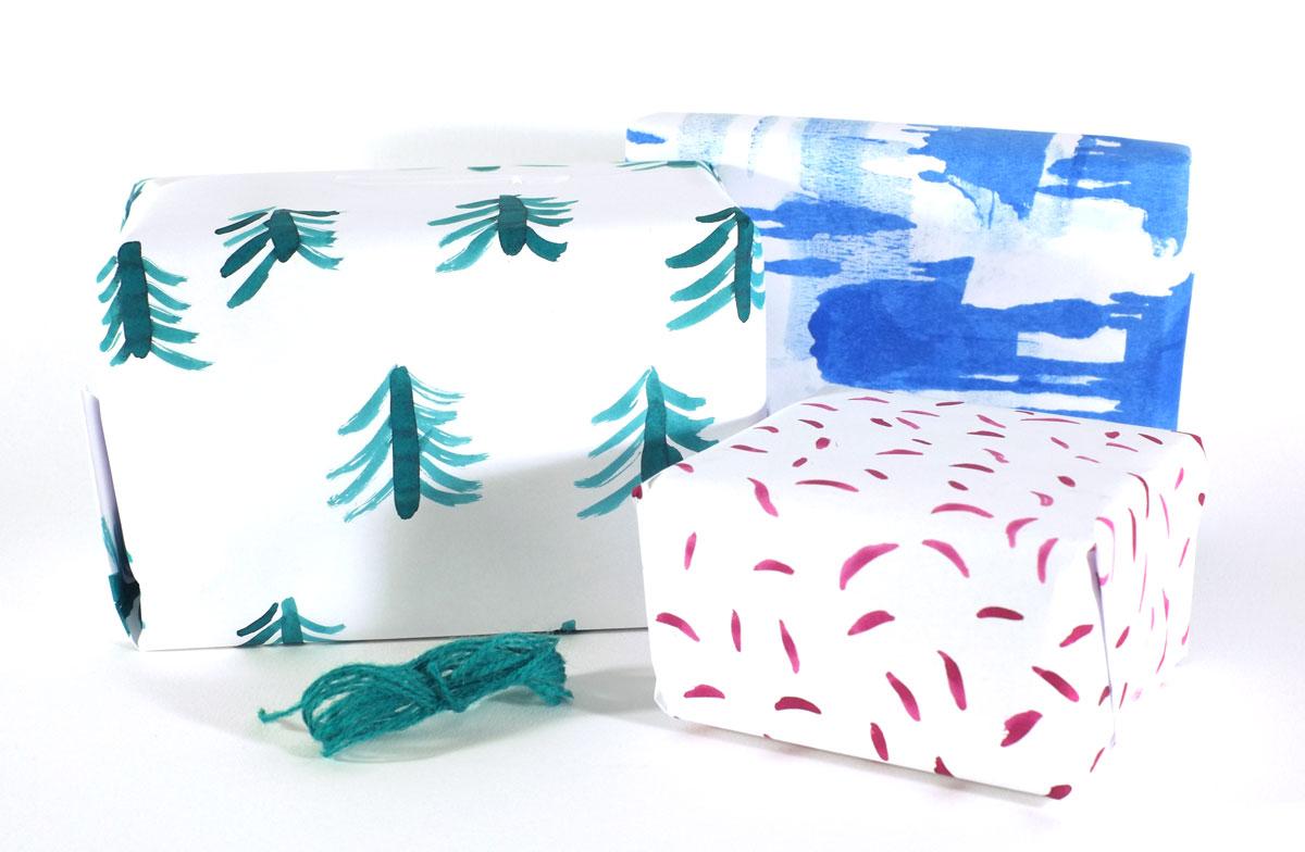 Markmaking wrapping paper by Ellen Vesters Illustrator Utrecht