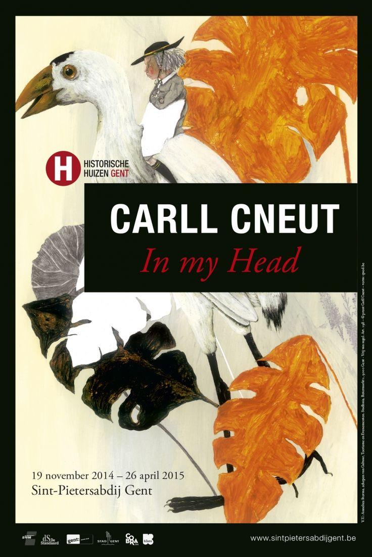 exhibition in my head carll cneut in gent