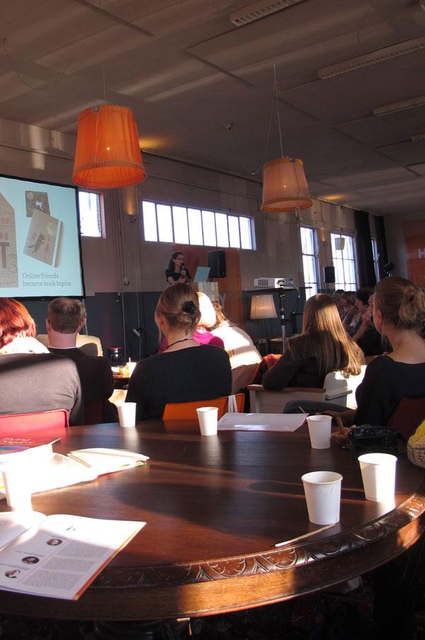 janine vangool of uppercase at hello etsy 2012 by ellen vesters illustrator graphic designer
