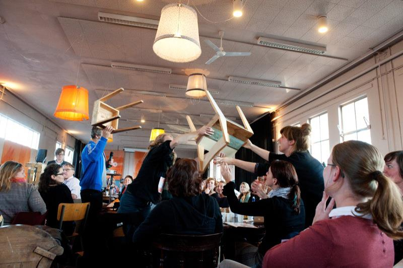 chair dance with piet hein eek etsy 2012 by ellen vesters illustrator graphic designer