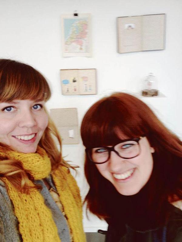 girl crush on marloes de vries illustrator exhibiting in emmen