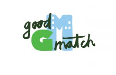 illustratie logo good match duurzaam door ellen vesters illustrator en grafisch vormgever