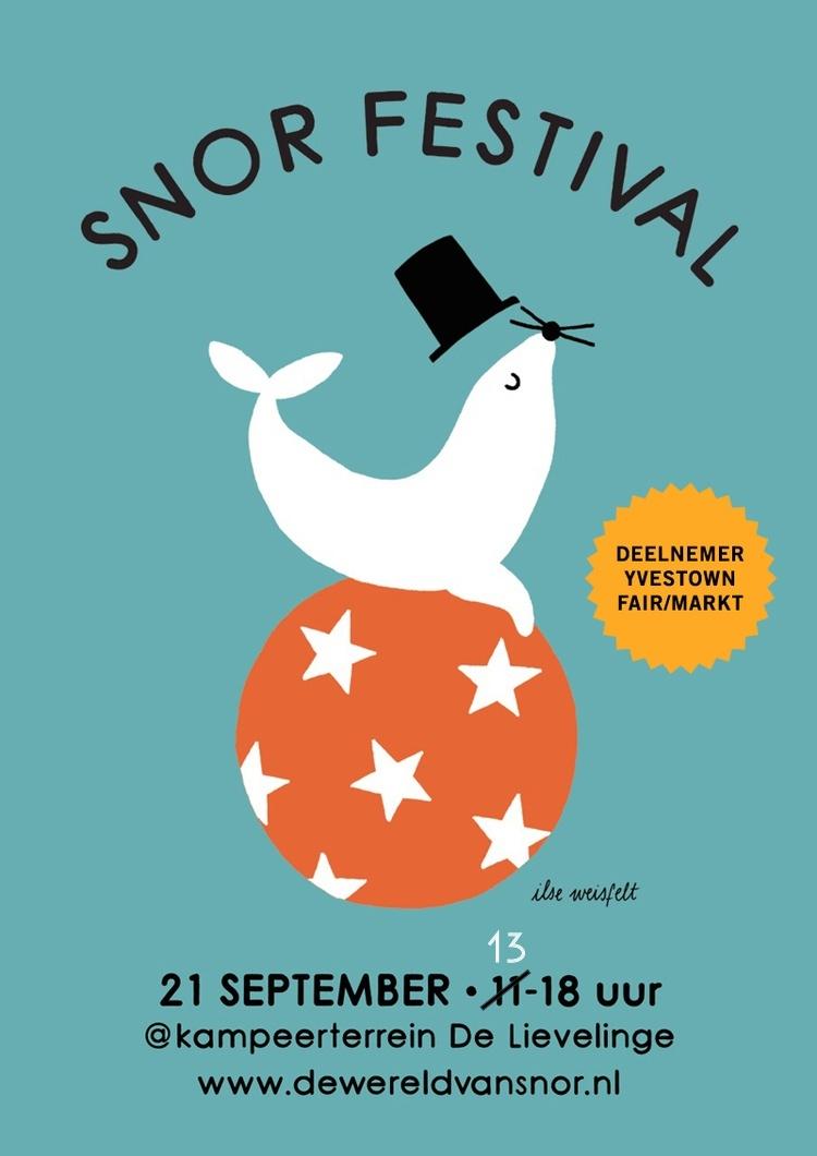Ellen Vesters geeft workshops bij festival door uitgeverij Snor