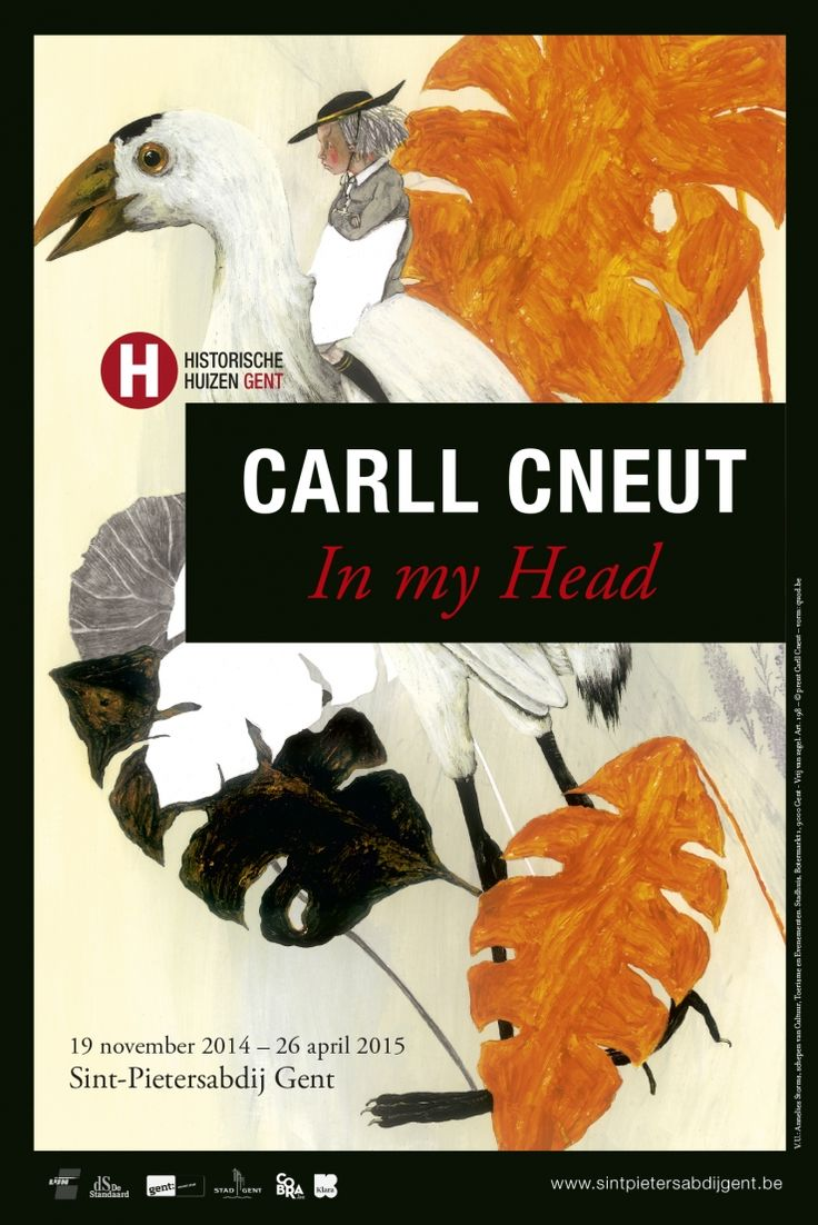 exhibition in my head carll cneut in gent