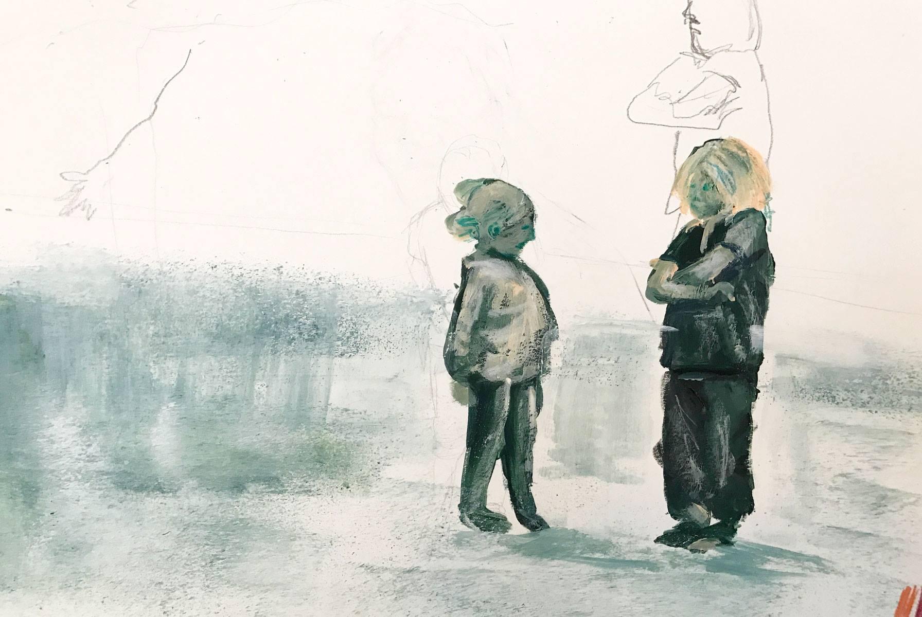 Stubborn children by Ellen Vesters lllustrator