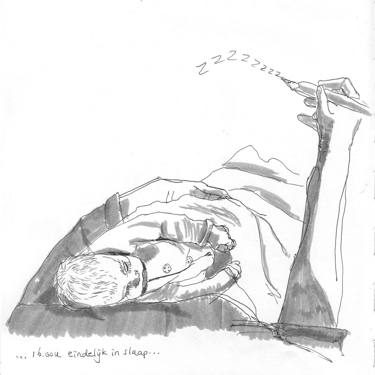 Holding baby by Ellen Vesters Illustrator