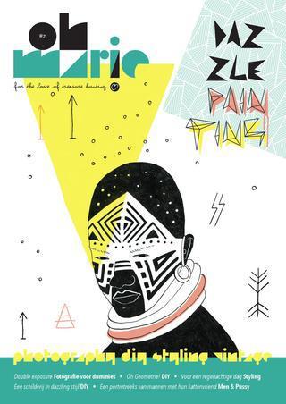 Oh Marie Magazine Dazzle Painting cover Ellen Vesters illustrator graphic designer.jpg