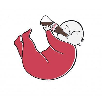 ellen vesters ichbineinmauer illustration cola baby