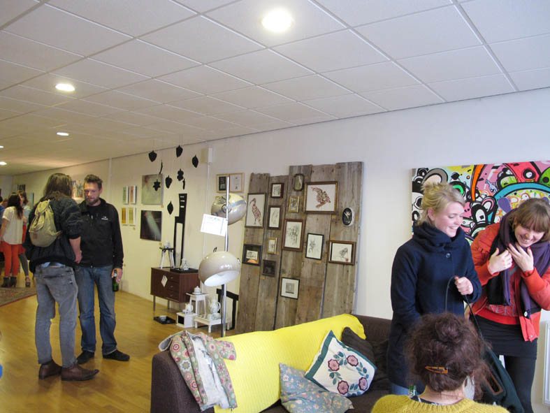 fred en guus pop up gallery