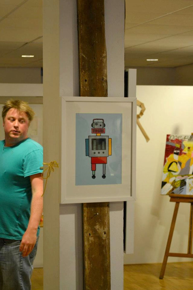 fred en guus pop up gallery robot ellen vesters