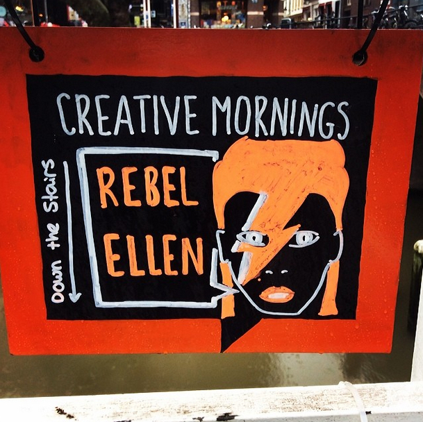 ellen vesters at creative mornings by phillip gangan