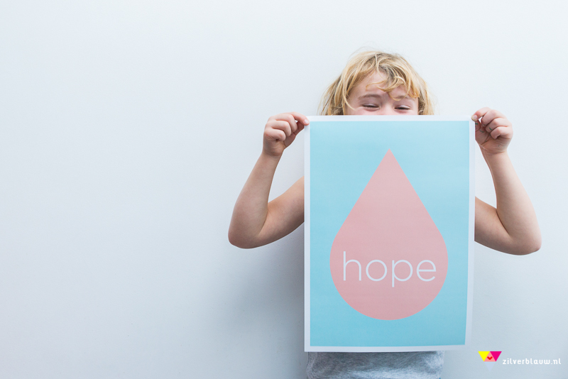 poster hope by zilverblauw